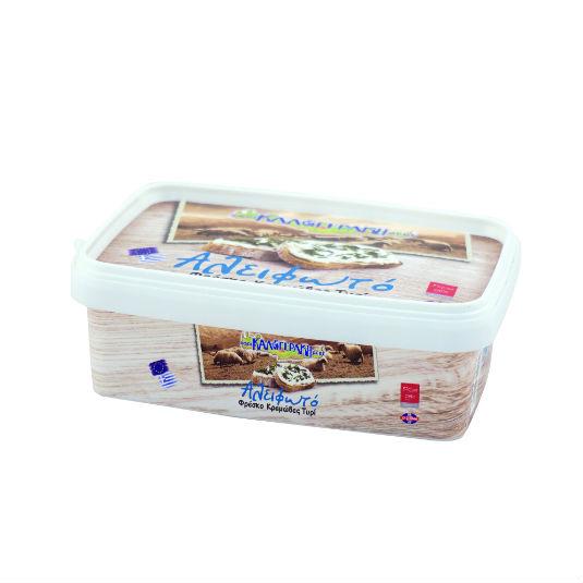 «Αλειφωτό» φρέσκο κρεμώδες τυρί