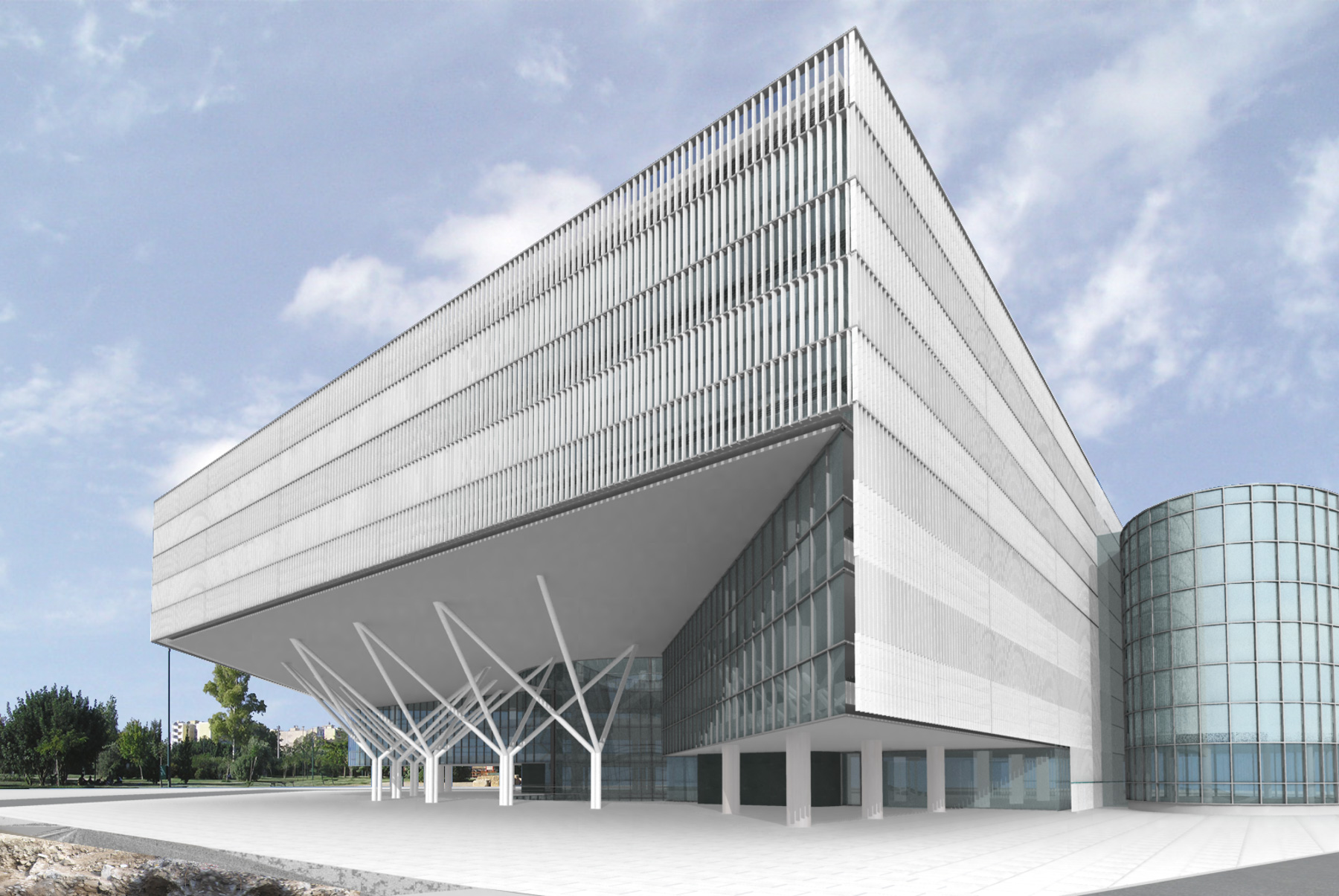 NBG Office Building / Athens, Greece