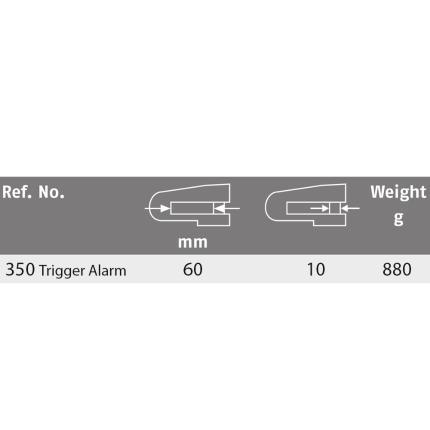 Κλειδαριά δισκόφρενου με συναγερμό ABUS Trigger Alarm 350 | 2 χρώματα-4