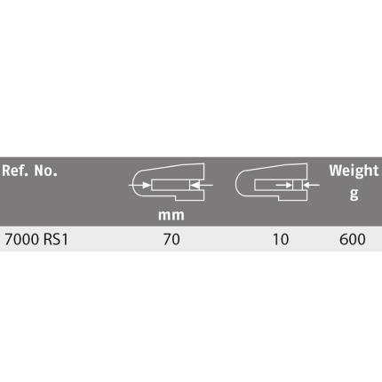 Κλειδαριά δισκόφρενου, με συναγερμό ABUS 7000 RS1 Pixel Red Detecto-3
