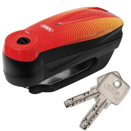 Κλειδαριά δισκόφρενου, με συναγερμό ABUS 7000 RS1 Sonic Red Detecto-0