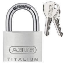 Λουκέτο επισκληρυμένο αλουμινίου ABUS Titalium 54TI | 3 μεγέθη