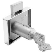 Κλειδαριά κουτιαστή επίπλων Meroni Cas 2B11 Νίκελ | 5 μεγέθη
