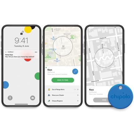 Μπρελόκ Ανιχνευτής Αντικειμένων - Bluetooth Tracker CHIPOLO ONE   6 χρώματα-1