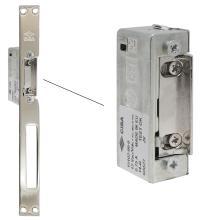 Ηλεκτρικό αντίκρισμα για απλές πόρτες με πλάκα μήκος 250mm CISA 15102 & 15110