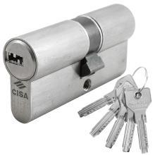 Κύλινδρος ασφαλείας διπλής λειτουργίας νίκελ CISA ASIX 0E301