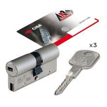 Κύλινδρος υψηλής ασφάλειας με ελεγχόμενης αντιγραφή κλειδιού CISAAP3 SOH3SO | 7 μεγέθη