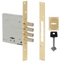 Κλειδαριά ασφαλείας πρόσθετη τύπου χρηματοκιβωτίου CISA 57028.60 | Χρυσό