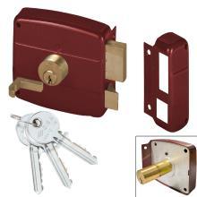 Κλειδαριά κουτιαστή (εξωτερική) κυλίνδρου CISA locking line 50761.50