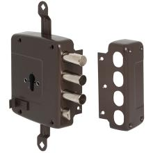 Κλειδαριά κουτιαστή κυλίνδου ασφαλείας, με έξτρα κλειδώματα CISA 56167.60