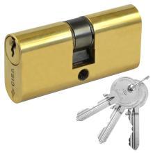 Cylinder Oval brass CISA 08210
