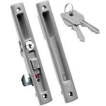 Κλειδαριά με Κλειδί για συρόμενες θύρες αλουμινίου DOMUS kliklok 7710 | 4 χρώματα