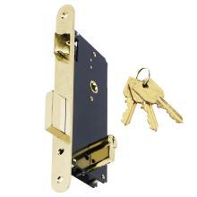 Κλειδαριά χωνευτή, για ξύλινες πόρτες με κύλινδρο DOMUS EXPORT 92845
