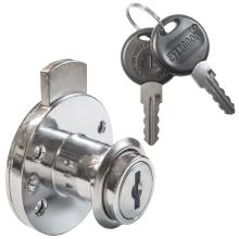 Κλειδαριά κυλινδρική για συρτάρια & πόρτες επίπλων EVERGOOD ART 109