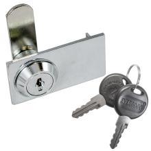 Κλειδαριά διπλής κρυστάλλινης πόρτας επίπλων EVERGOOD ART 219