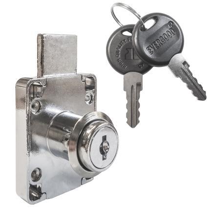 Κλειδαριά για συρτάρια & πόρτες επίπλων EVERGOOD ART 139 | 2 μεγέθη-0