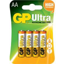 Αλκαλικές Μπαταρίες AA GP Ultra Alkaline GP15AU 4τμχ.