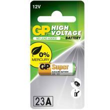 Αλκαλική Μπαταρία Σταθερης-Υψηλής τάσης A23 GP High Voltage Alkaline 23AF