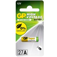 Αλκαλική Μπαταρία Σταθερης-Υψηλής τάσης A27 GP High Voltage Alkaline 27A