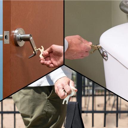Κλειδί Μπρελόκ υγιεινής πολλαπλών χρήσεων HANDZOFF SILCA AVZ1114-2