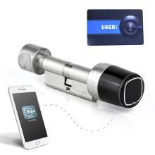 Ηλεκτρονικός κύλινδρος (Αφαλός) RFID ISEO Libra άνοιγμα με κινητό ιδανικό για AirBmb