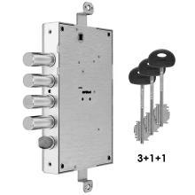 Κλειδαριά θωρακισμένης με κλειδί χρηματοκιβωτίου FIAM 608D | 2 μεγέθη