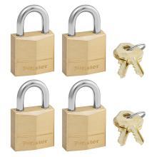 Λουκέτο ίδιο κλειδί MASTER LOCK 120EURQNOP ΣΕΤ 4 τεμάχια