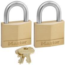 Λουκέτο ίδιο κλειδί MASTER LOCK 140EURT ΣΕΤ 2 τεμάχια