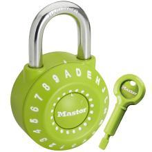 Λουκέτο Mε Συνδυασμό - Ρολόι MASTER LOCK 1590DCOL Πράσινο