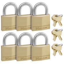 Λουκέτο ίδιο κλειδί MASTER LOCK 140EURSIX ΣΕΤ 6 τεμάχια