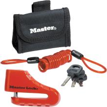 Κλειδαριά δισκόφρενου μηχανής MASTER LOCK 8304EURDPS