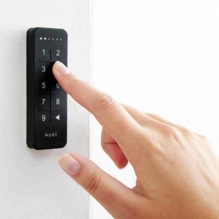 Έξυπνη κλειδαριά NUKI 2.0 + WiFi Bridge + Keypad - άνοιγμα & έλεγχος από το κινητό ιδανική για AirBnb-3