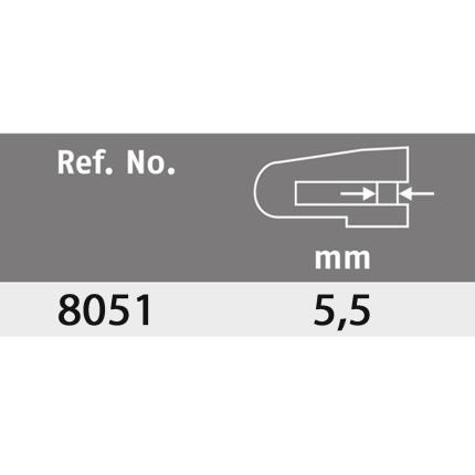 Κλειδαριά δισκόφρενου μηχανής ONGUARD Boxer 8051B   Μαύρο-Κίτρινο-1