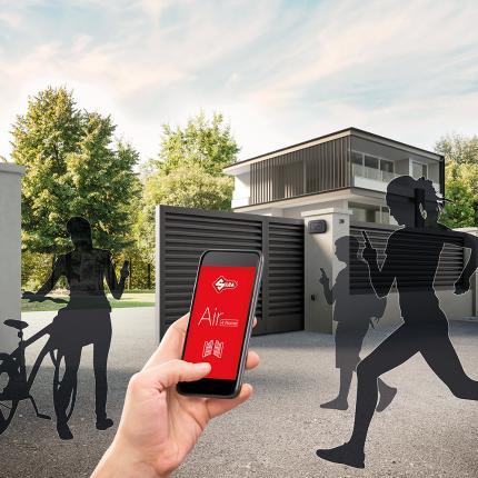Συσκευή Τηλεχειρισμού για Γκαραζόπορτες - Bluetooth SILCA Air 4 Home | AVZ1107-3