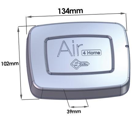 Συσκευή Τηλεχειρισμού για Γκαραζόπορτες - Bluetooth SILCA Air 4 Home | AVZ1107-4