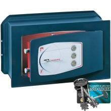 Χρηματοκιβώτιο Εντοιχιζόμενο με κλειδί & κώδικα TECHNOMAX GD 4