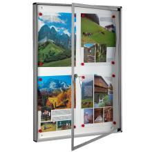Πίνακας ανακοινώσεων 4 κόλλες A4 VIOMETAL 701 | 3 χρώματα