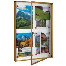 Πίνακας ανακοινώσεων 4 κόλλες A4 VIOMETAL 701 | 4 χρώματα