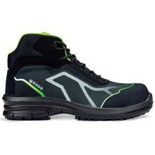 Παπούτσια εργασίας BASE OREN TOP S3 SRC | Μαύρο/Πράσινο
