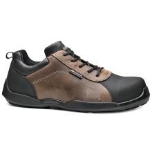 Παπούτσια δερμάτινα εργασίας BASE RAFTING S3 SRC | Καφέ/Μαύρο