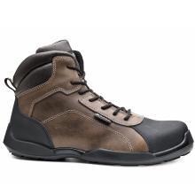 Παπούτσια δερμάτινα εργασίας BASE RAFTING TOP S3 SRC | Καφέ/Μαύρο