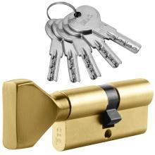 Κύλινδρος ασφαλείας με Πόμολο ISEO R6 | Χρυσό & Νίκελ