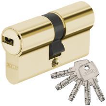 Κύλινδρος ασφαλείας ABUS D6 χρυσό & νίκελ