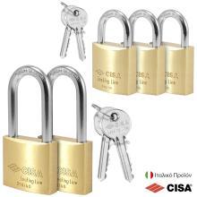 Λουκέτα Στρατού με Ίδιο Κλειδί CISA 21010/11.40 | ΣΕΤ 5 τεμάχια