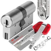 Κύλινδρος (Αφαλός) CISA RS3 S 0L3S1 με ελεγχόμενης αντιγραφής κλειδί υψηλής ασφάλειας με αντοχή στο σπάσιμο