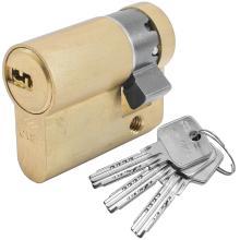 Κύλινδρος (Αφαλός) ασφάλειας μισός CISA ASTRAL 0A314 | 30-10mm Χρυσό