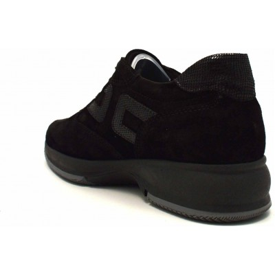 Γυναικείο sneaker suede δέρμα κορδόνι RAGAZZA 0242