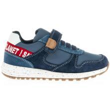 Αγόρι sneaker casual sport ελαστικ. κορδονια σκράτς. GEOX J159ΕD 022FU C0735