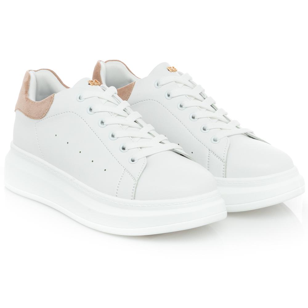 Γυναικείο Sneaker λευκό Reanato Garini Μ119R101219C
