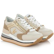 Γυναικείο Sneaker δέρμα Keys k-4501 2